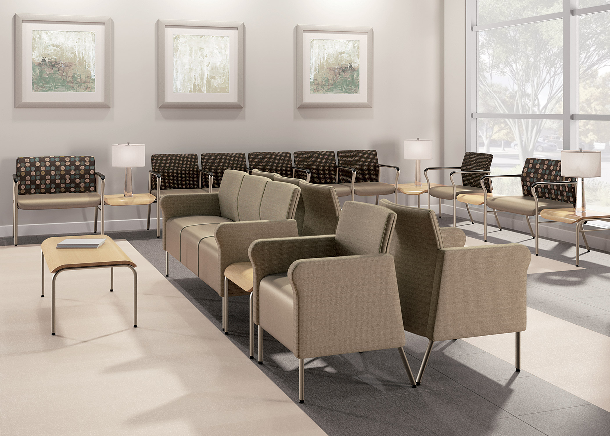 Confide national office furniture for Furniture configurations for small spaces