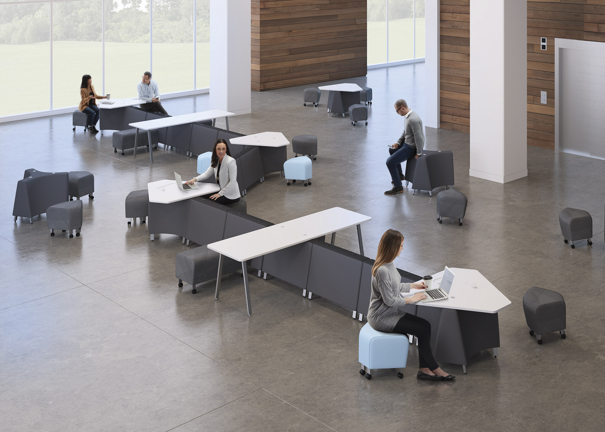 Kozmic Collaborative Collection National Office Furniture