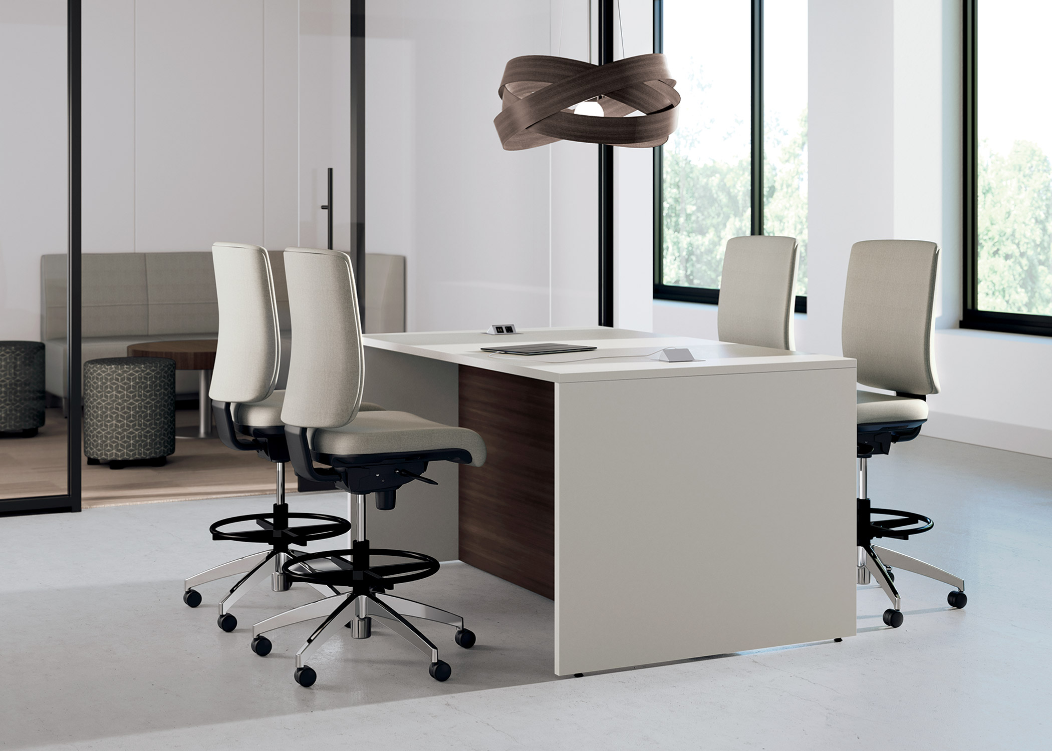 Office Furniture Chairs And Tables strassa collaborative tables | national office furniture