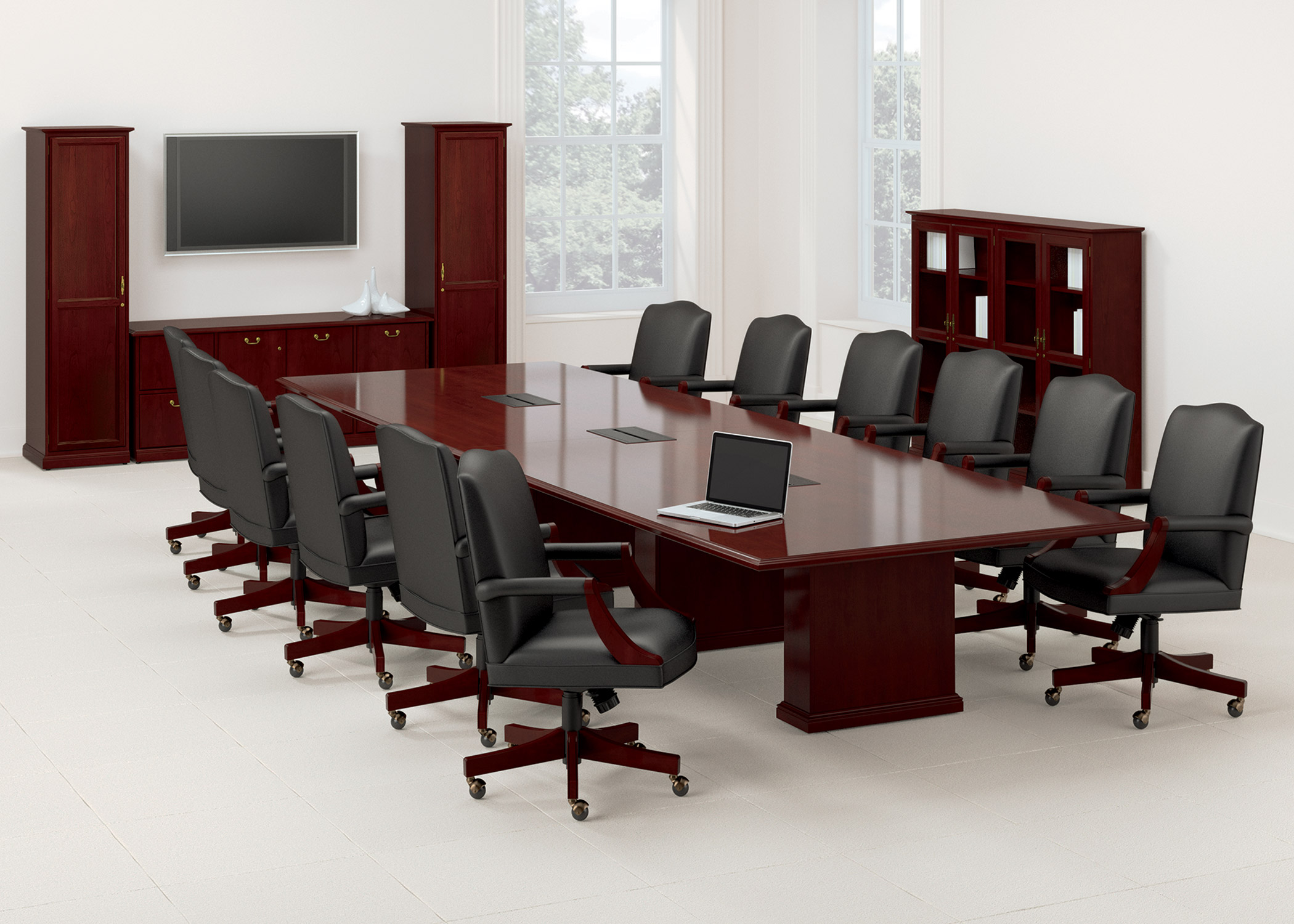 Conference table furniture chairs seating for Furniture nation
