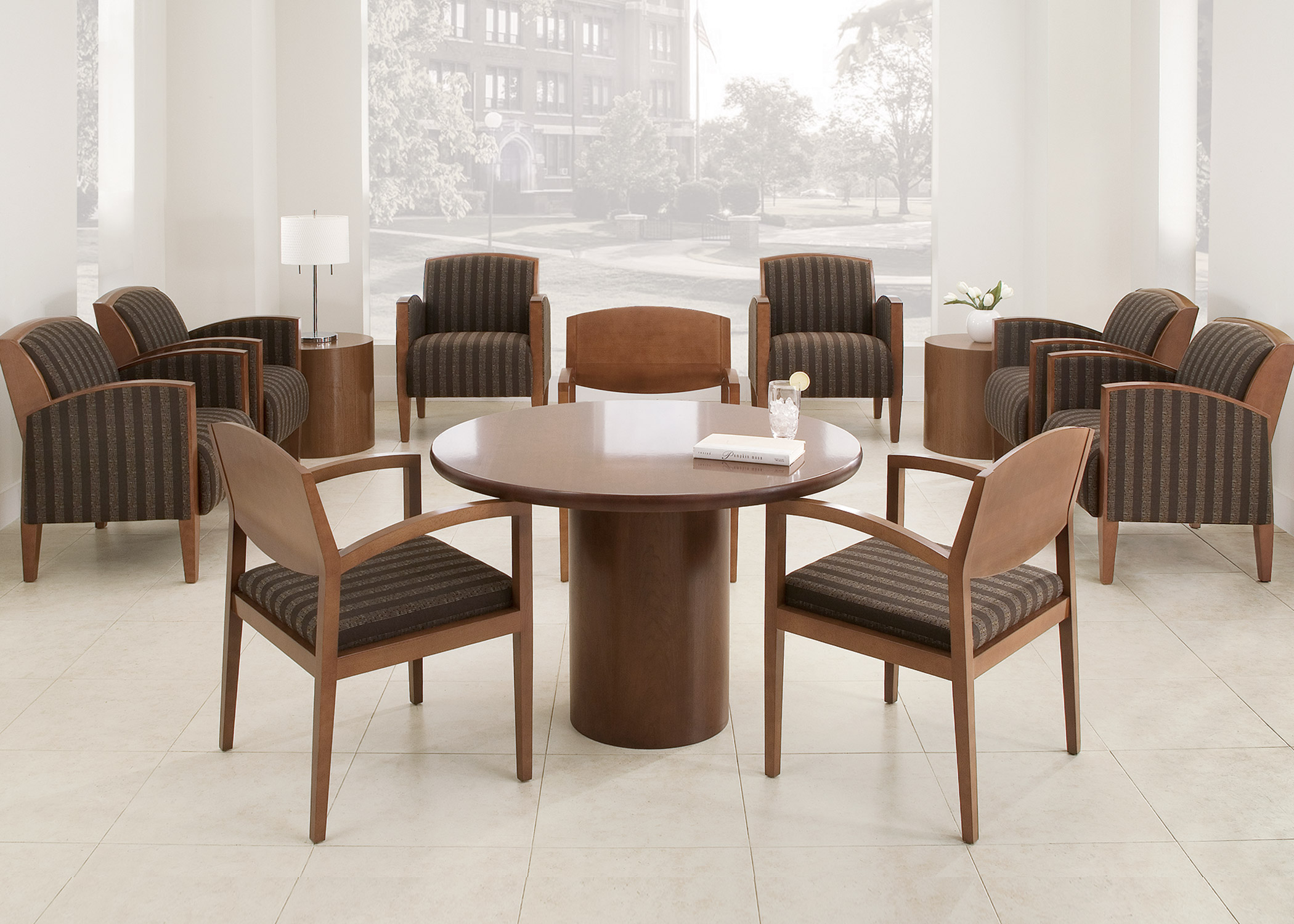 ... Round Decorator Table By Universal Tables National Office Furniture ...