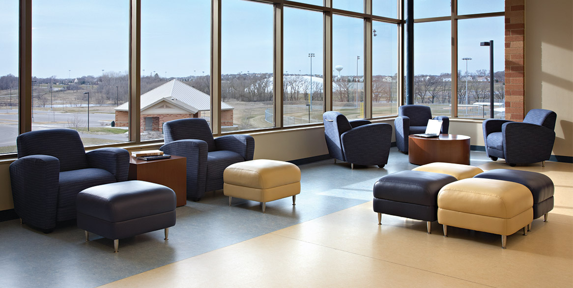 East Ridge High School National Office Furniture