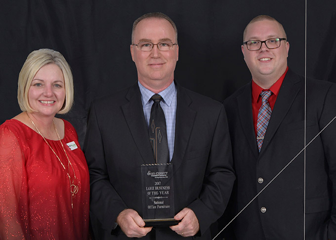 National's Fordsville facility honored