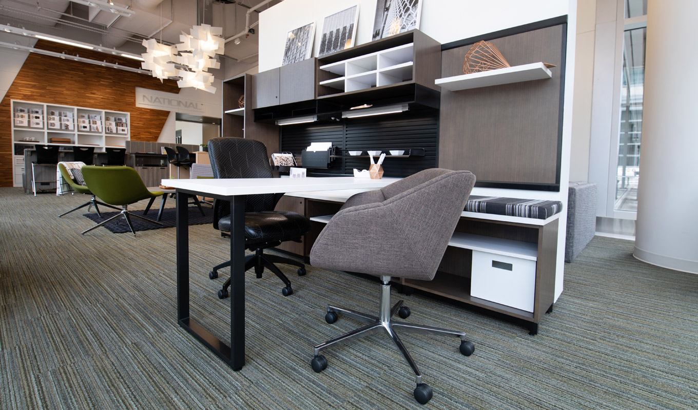 Atlanta Showroom National Office Furniture