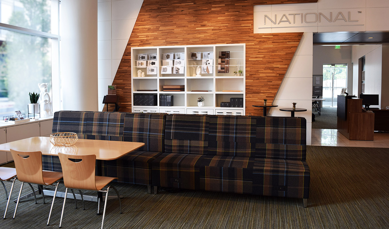 Corporate Showrooms | National Office Furniture