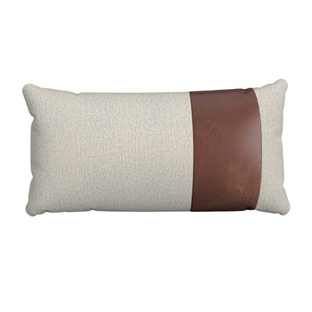Rectangle Pillow with Stripe - Right