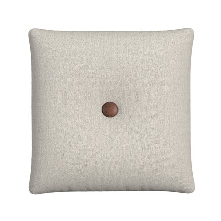 Square Pillow with Button