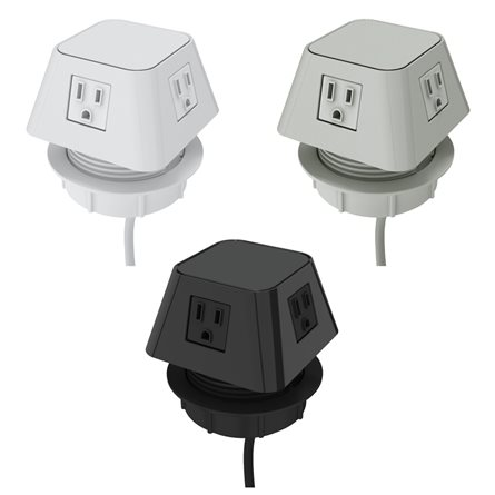 (4) Power outlets