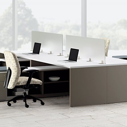 Resin Privacy Screens | National Office Furniture